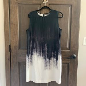 NWT Vince water color dress